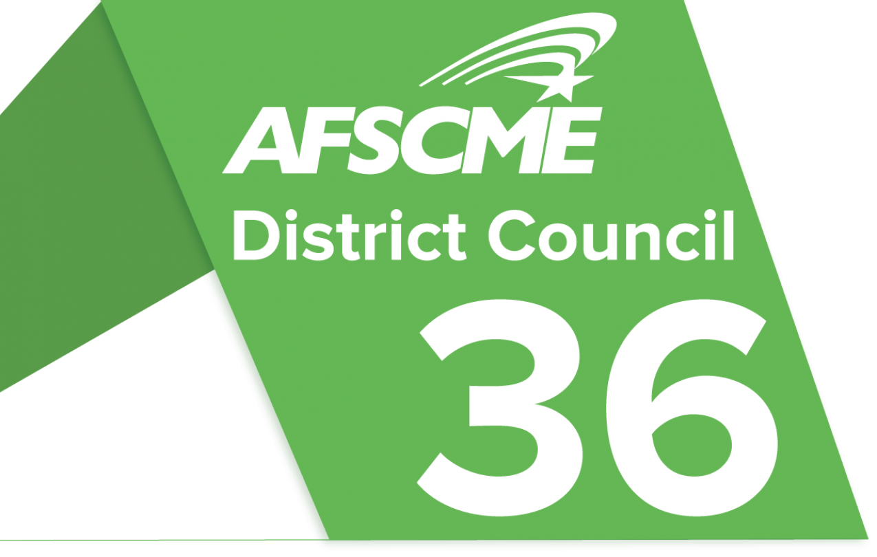 AFSCME District Council 36 logo