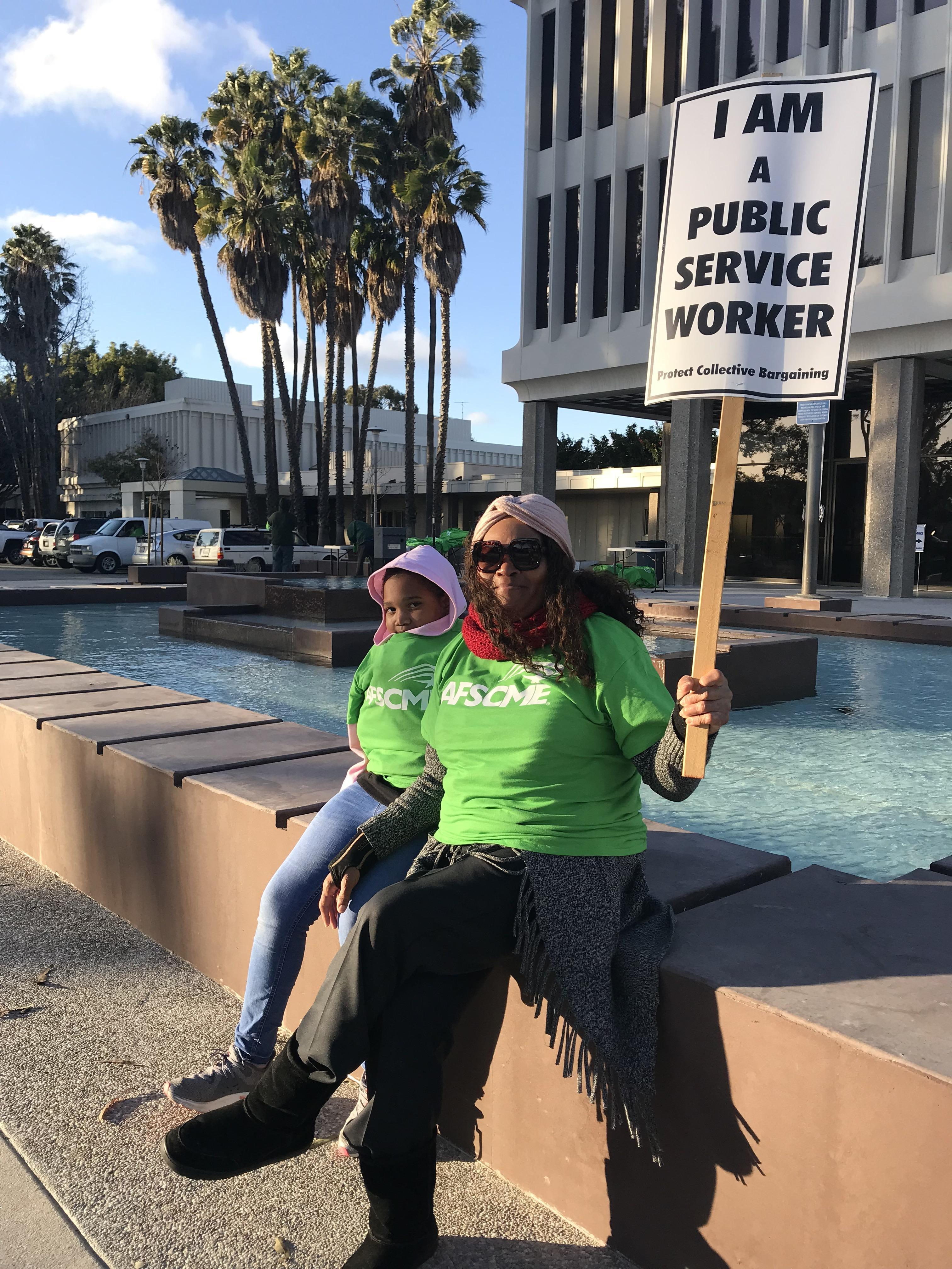 Local 1117 Fights for a Fair Contract
